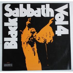 Disco Vinil Black Sabbath Vol. 4 Selo Nems Lp Capa Dupla
