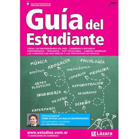 Guía Del Estudiante 2017 / 2018 Nueva Unica Con Todo El Pais