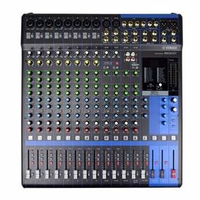 Mesa De Som Yamaha Mg16 Xu Mg16xu C/ Efeito Usb + Frete