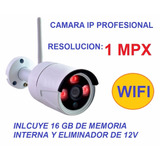 Cámara Ip Profesional 1 Mpx Memoria Interna 16gb