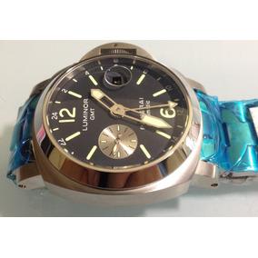 Panerai Pam00297 Gmt Bracelete Automático