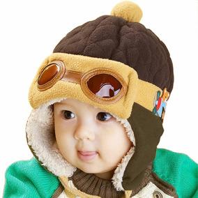 Gorro De Aviador Bebes Niños Niñas / 4 Diferentes Colores