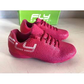 Botines Zapatillas Fly Cheeky Farrel Fuxia 35 36 Nuevo