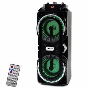 Caixa De Som Amplificada Com Bluetooth E Usb.