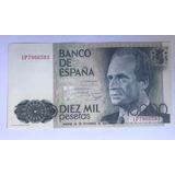 Billete 10000 Pesetas Banco De España 1985 Envio Gratis