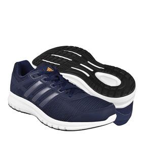 Tenis Para Correr adidas Para Hombre Textil Marino Ba8103
