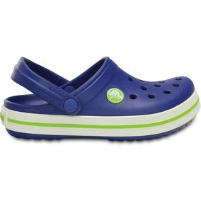 Crocs Originales Crocband Kids Azul Niños 4q8