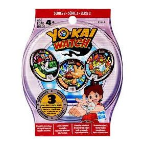 Yo-kai Watch Yokai Yo Kai Serie 2 Medallas Hasbro