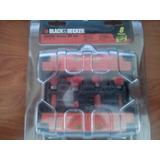 Juego De Brocas De Carburo De 8 Piezas 76-382 Black & Decker