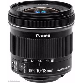 Lente Canon Ef-s 10-18mm F/4.5-5.6 Is Stm Pronta Entrega Top