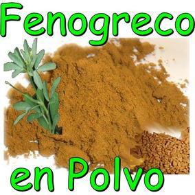 Fenogreco Molido Alholva Trigonella Foenum-graecum Especia