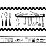Adesivo Decorativo Faixa Cozinha Modelo 2