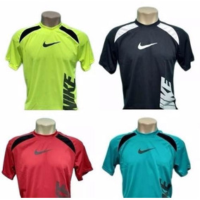 Kit 10 Camiseta Camisa Dry Fit Poliester Academia E Corrida