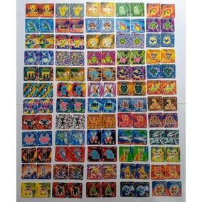 Elma Chips Coleção Completa Com 120 Tazos Jo Ken Pokémon