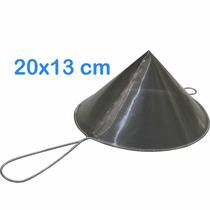 Coador De Óleo Chinoy 20x13 Cm Inox