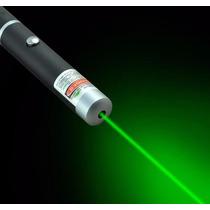 Caneta Laser Pointer Verde Green 5000mw Alcança 6km 5 Pontas