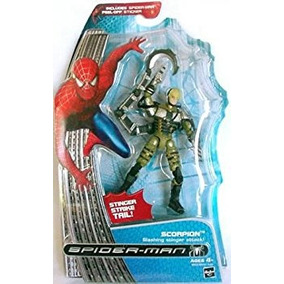 Juguete Spider-man 2 Scorpion Stinger Figura Con Golpe De C