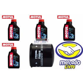Óleo Motul 3000 Moto 4t 20w50 (4l) + Filtro Óleo Fram Ph6018