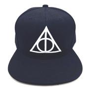 Gorra Plana Harry Potter Adulto Reliquias De La Muerte Envío