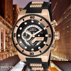 2bf8054da19 Adidas Preto E Ouro Rose - Relógio Invicta Masculino no Mercado ...