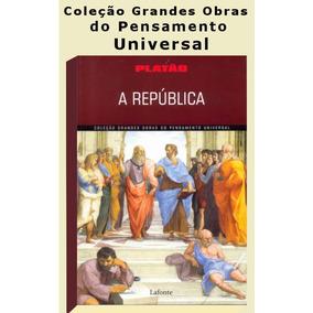 Livro A República - Platão - Lafonte