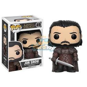 Boneco Funko Pop Game Of Thrones Got - Jon Snow 49