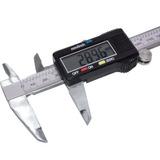 Paquímetro Digital Aço Inox 150mm Mede Centímetros Polegadas