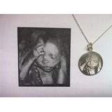 Medalla Con Foto Futura Mamá Ecografia 3d - 4d Dedicatoria