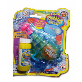 Burbujero Pistola + Pote Automatico Burbujas Baby Shopping