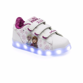 Zapatillas Addnice Disney Frozen Luces Led Usb Mundo Manias