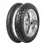 Cubierta 110 80 18 + 90 90 21 Pirelli Mt 90 Xtz Moto Vivac