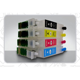 Cartuchos Recargables Para Epson Xp 211 + T.fot 400ml +envío