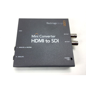 Mini Conversor Hdmi Para Sdi 4k Blackmagic Pront. Entrega #