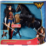 Set Wonder Woman Y Caballo Original De Mattel