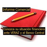 Informe De Situación Financiera (incluye Veraz Y Bcra)