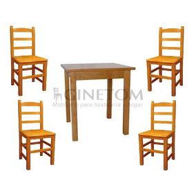 Mesas Para Restaurante Con 4 Sillas