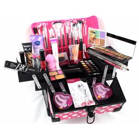 Maleta Grande Maquiagem Completa Profissional Rubyrose Avon