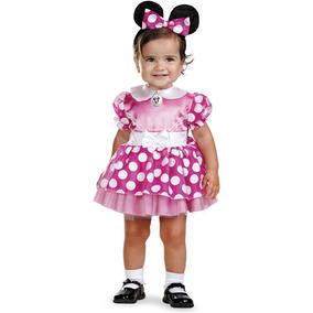Disfraz De Minnie Mouse Rosado Totalmente Nuevo