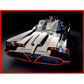 Batimobil 1966 Batman Cuadro Enmarcado 45x30cm