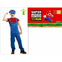 Fantasia Infantil Super Mario - Importada Europa