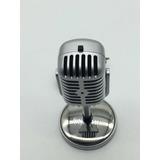 Microfono Retro Decoracion Parlantes Portatiles En Mercado Libre