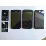 Celular Lg Optimus E-455 L5ii Dual Sim E Bateria Bl-44jh