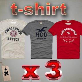 Camisetas T-shirt Abercrombie Y Hollister