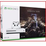 Xbox One S Shadow Of War Bundle Videojuegos Atian Mp Menvios
