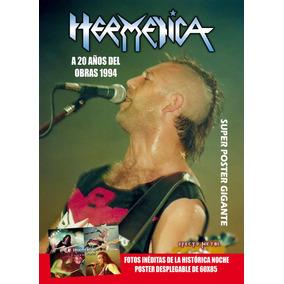 Revista Efecto Metal - Reviposter Hermetica 20 Años Obras