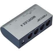 Interface Midi Usb Nektar Midiflex 4 Port Flexible + Nf