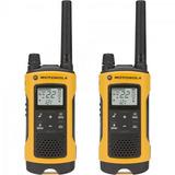 Radio Comunicador Talkabout Motorola 35km Amarelo C