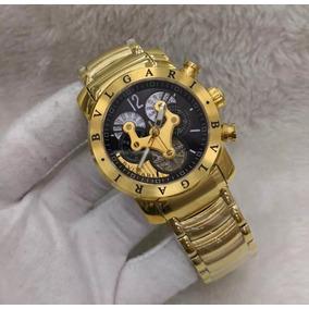 a74ee223731 Caixa De Relógio Bvlgari - Relógio Bvlgari Masculino no Mercado ...