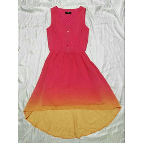 Mossimo Vestido Cola De Pato Playa Maxi Dress Chico