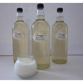 Aceite De Coco Extra-virgen. 1 Litro. Prensado Al Frío